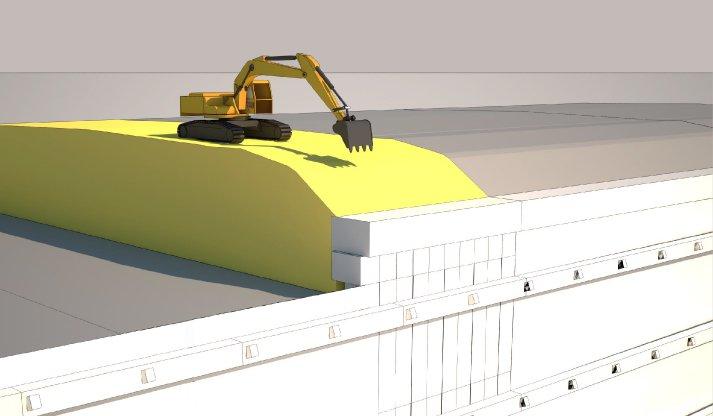 progetto di demolizione edile