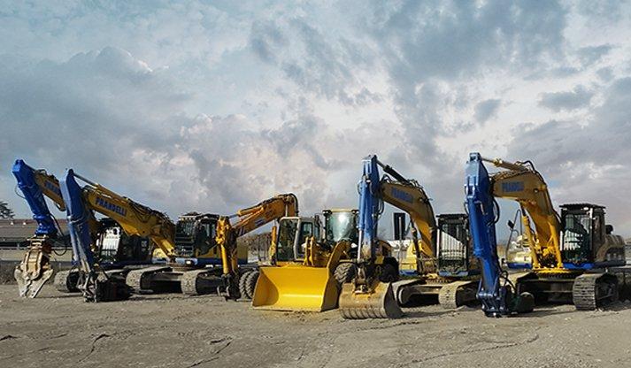 macchinari demolizioni e scavi edili
